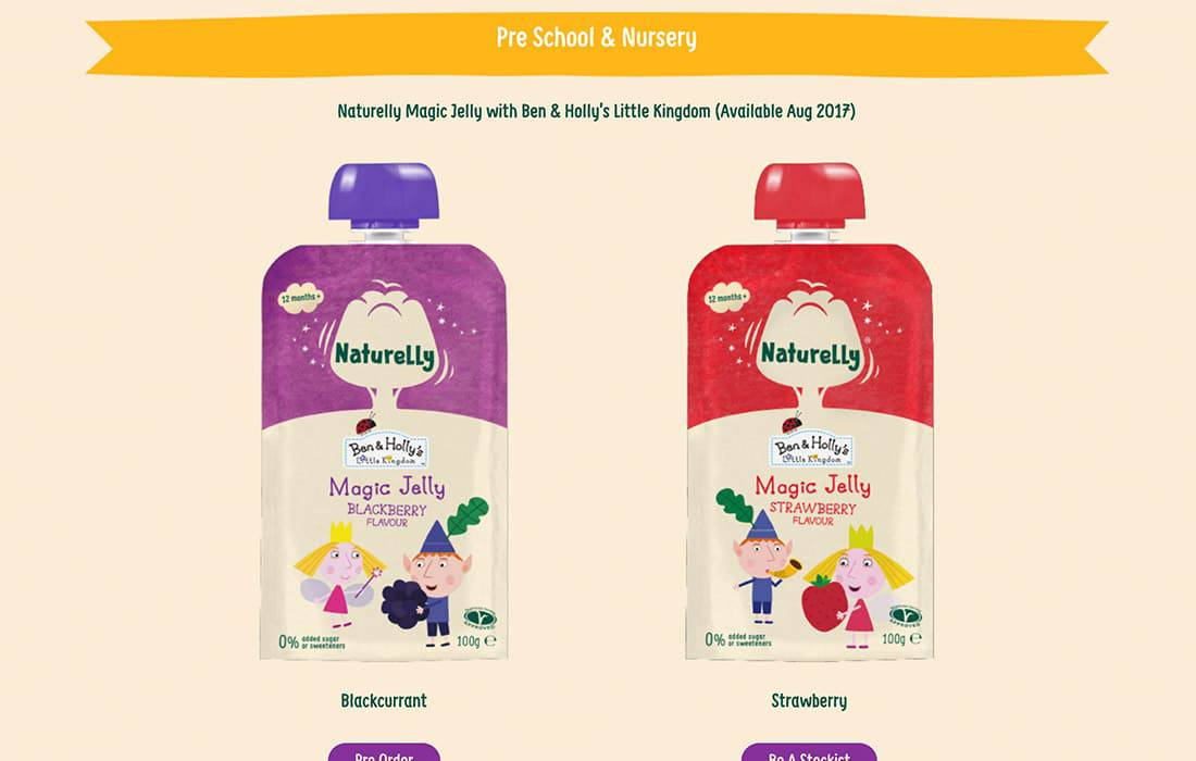 Naturelly Jelly Juice Project with Made By Factory.
