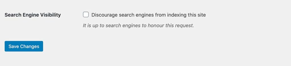 discourage search engnes